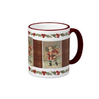 Old-Fashion Santa Mug