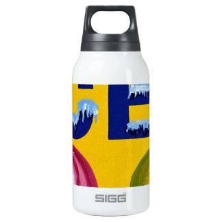 Old Fashion Signs: ICES! Insulated Water Bottle