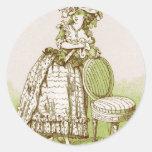 Old Fashion Woman sticker