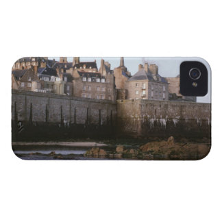 Old-fashioned architecture, Brittany, France iPhone 4 Cover