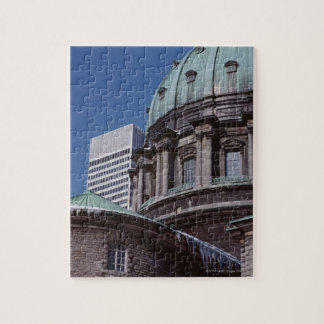 Old-fashioned architecture, cropped jigsaw puzzle