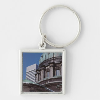 Old-fashioned architecture, cropped key chains