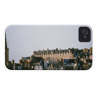 Old-fashioned architecture in Brittany iPhone 4 Case