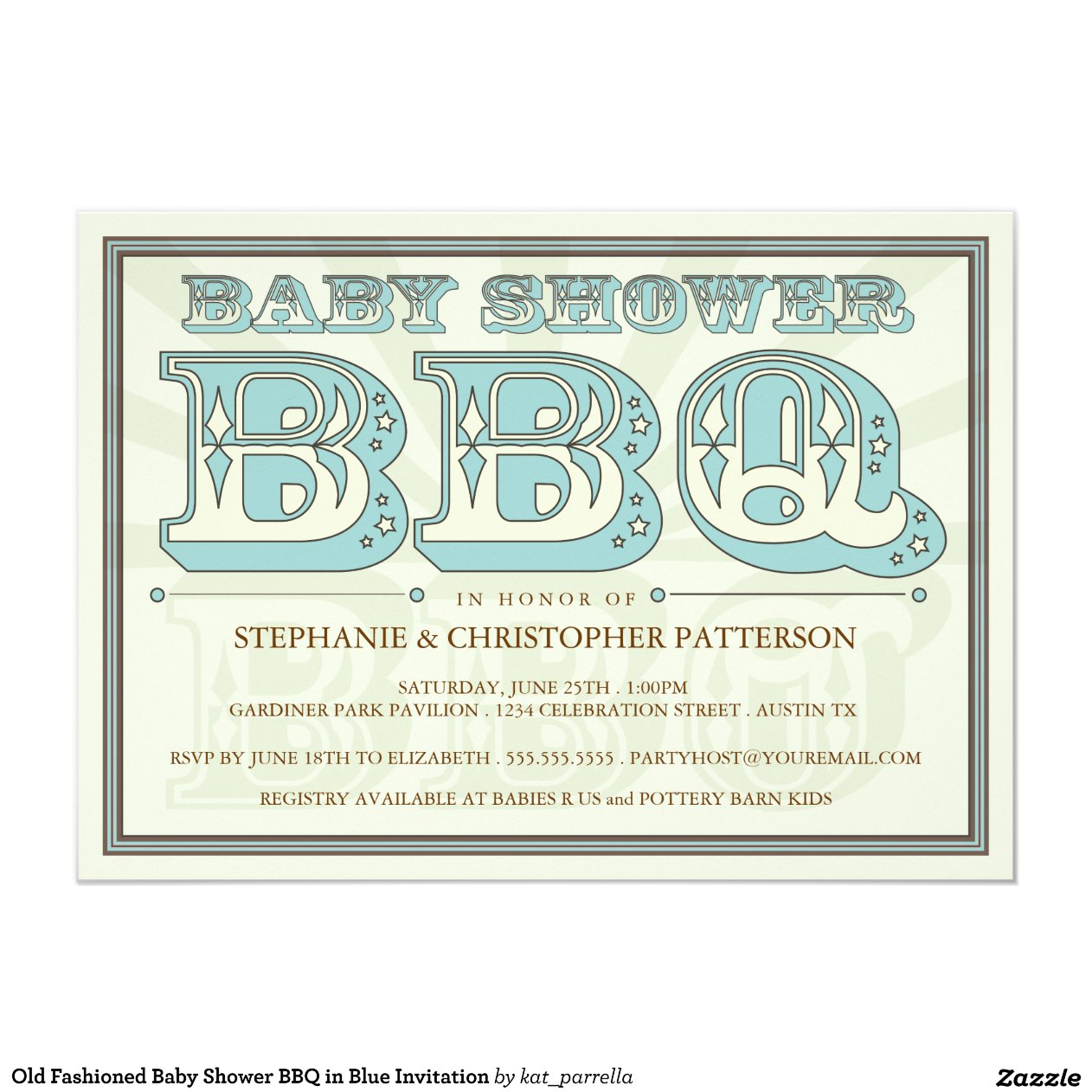 old_fashioned_baby_shower_bbq_in_blue_invitation ...