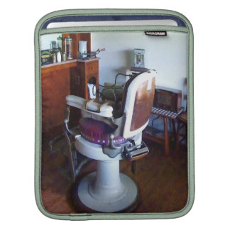 Old-Fashioned Barber Chair iPad Sleeve