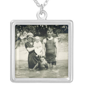 Old Fashioned Bathing Suit Necklace