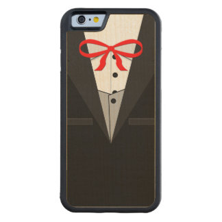 Old Fashioned Black Tuxedo Carved® Maple iPhone 6 Bumper Case