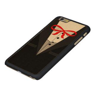Old Fashioned Black Tuxedo Carved® Maple iPhone 6 Plus Slim Case