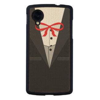 Old Fashioned Black Tuxedo Carved® Maple Nexus 5 Case