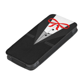 Old Fashioned Black Tuxedo iPhone 5 Pouch