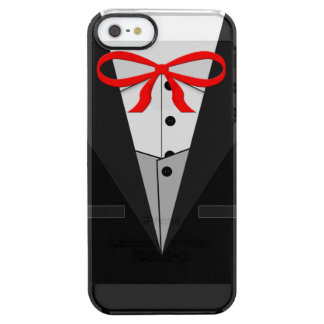 Old Fashioned Black Tuxedo Uncommon Clearly™ Deflector iPhone 5 Case