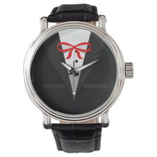 Old Fashioned Black Tuxedo Wristwatch