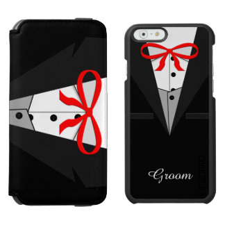Old Fashioned Black Tuxedo Incipio Watson™ iPhone 6 Wallet Case