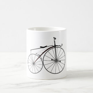 "Old-Fashioned ""Boneshaker"" Bicycle Coffee Mug"