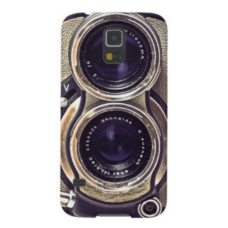 Old-fashioned camera case for galaxy s5