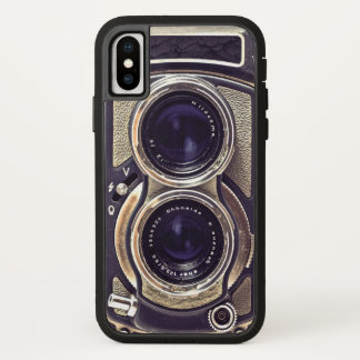 Old-fashioned camera iPhone x case