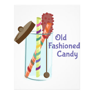 Old Fashioned Candy Letterhead