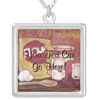 Old Fashioned Chef Necklace