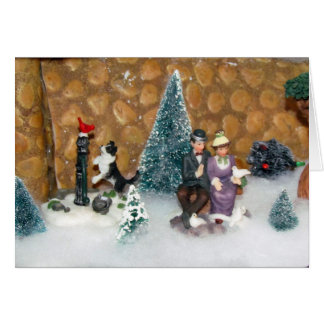 Old Fashioned Christmas (1213) - Christmas Village Card