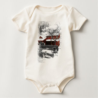 Old Fashioned Christmas Baby Bodysuit