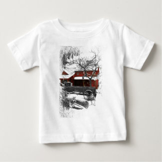 Old Fashioned Christmas Baby T-Shirt