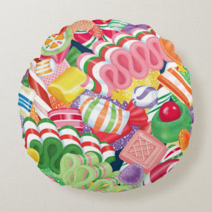 old fashioned christmas candy pillow - Old Fashioned Hard Christmas Candy
