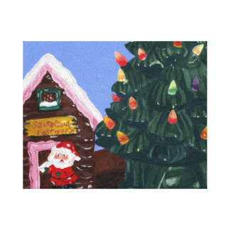 Old Fashioned Christmas Canvas Print