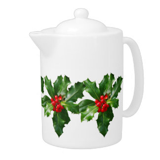Old Fashioned Christmas Holiday Joy Kids Teapot
