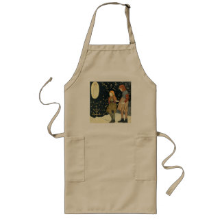 Old fashioned Christmas Long Apron