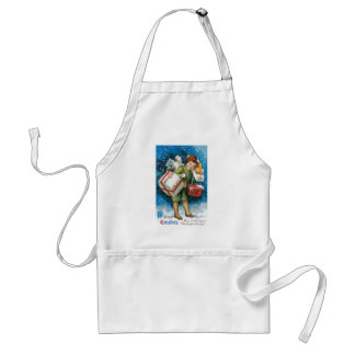 Old Fashioned Christmas Presents Apron