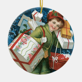 Old Fashioned Christmas Presents Ornament