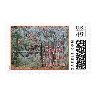 Old Fashioned Christmas stamp