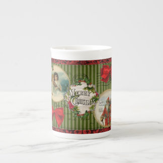 Old Fashioned Christmas Tea Cup