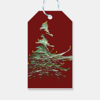 Old Fashioned Christmas Tree Gift Tags