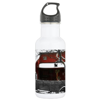 Old Fashioned Christmas Water Bottle