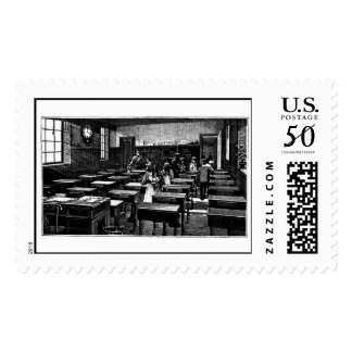 Old Fashioned Classroom Postage