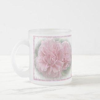 Old Fashioned Climbing Pink Roses mug