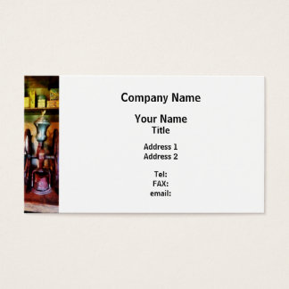 Old Fashioned Coffee Grinder Business Card