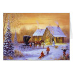 Old Fashioned Country Christmastime Card