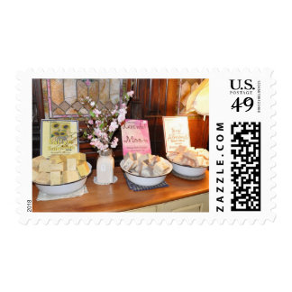 Old fashioned country store postage
