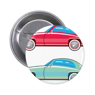 Old Fashioned Coupe Car Button