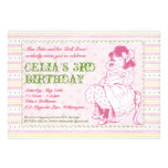 Old Fashioned Doll Party Invitation