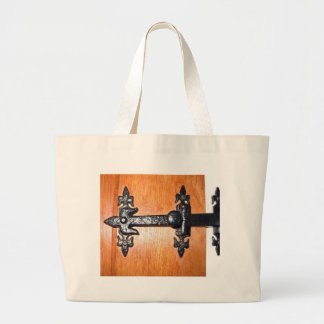 Old Fashioned Door Handle Jumbo Tote Bag