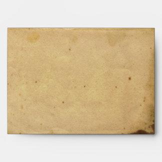 Old Fashioned Elegance Parchment Wedding Envelope