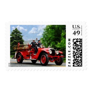 Old Fashioned Fire Truck Stamps