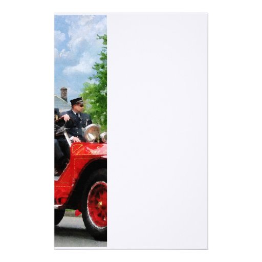 Old Fashioned Fire Truck Stationery
