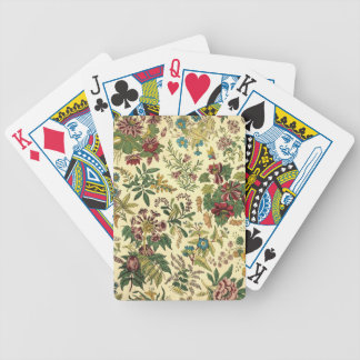 Old Fashioned Floral Abundance Bicycle Playing Cards