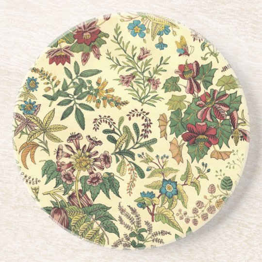 Old Fashioned Floral Abundance Coaster