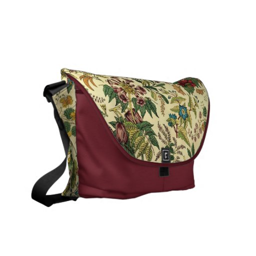Old Fashioned Floral Abundance Commuter Bags