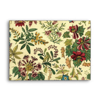 Old Fashioned Floral Abundance Envelope